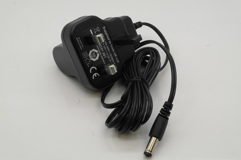 Icom BC-01.007 0.5A UK Charger