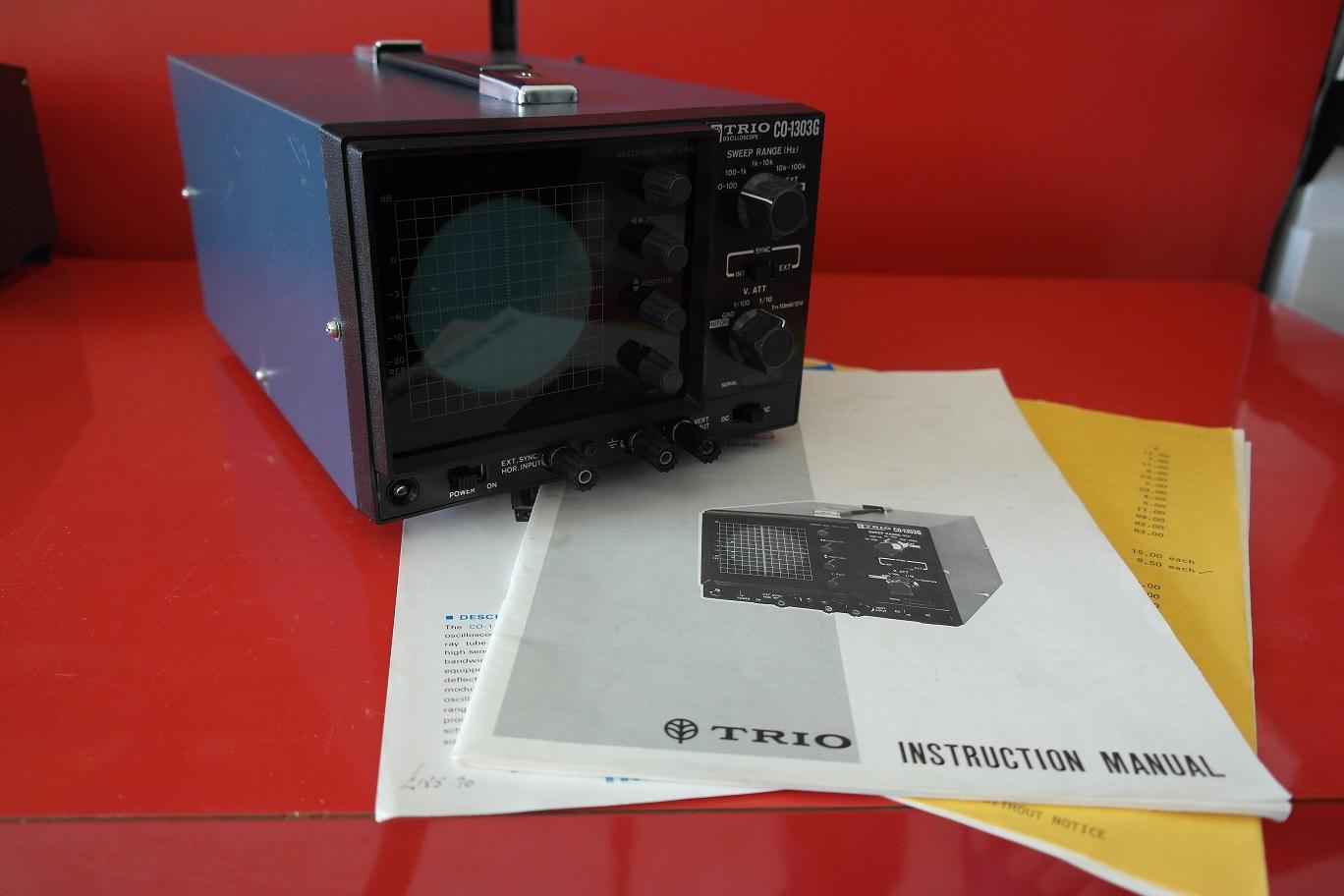 Second Hand Trio CO-1302G 10Hz - 100 kHz Osilloscope 1