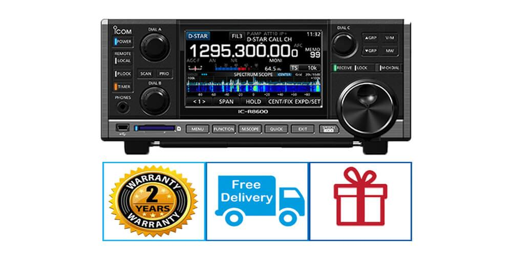 ICOM IC-R8600 WIDEBAND RECEIVER