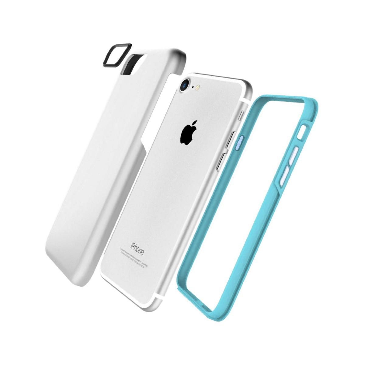 Jivo Combo Tough Case for iPhone 7 Silver
