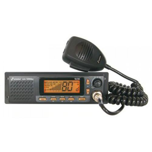 Stabo XM-5006e-R Mobile CB Transceiver 12/24VDC, AM/FM including