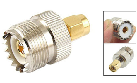 High Quality SO239 Female to SMA Male Connector Adaptor