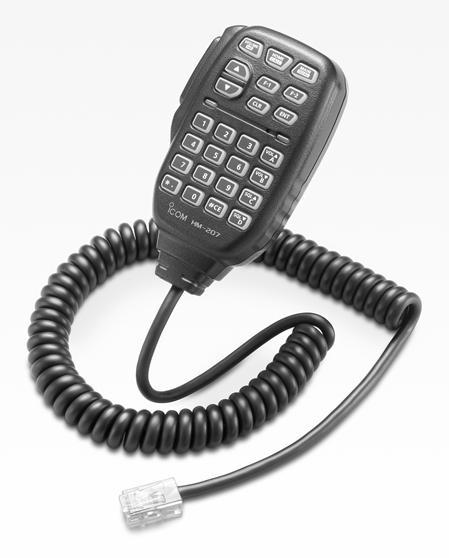 HM-207 Remote Hand Microphone
