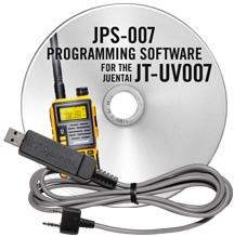 JPS-007 Software and USB-K4Y cable for the Juentai JT-UV007
