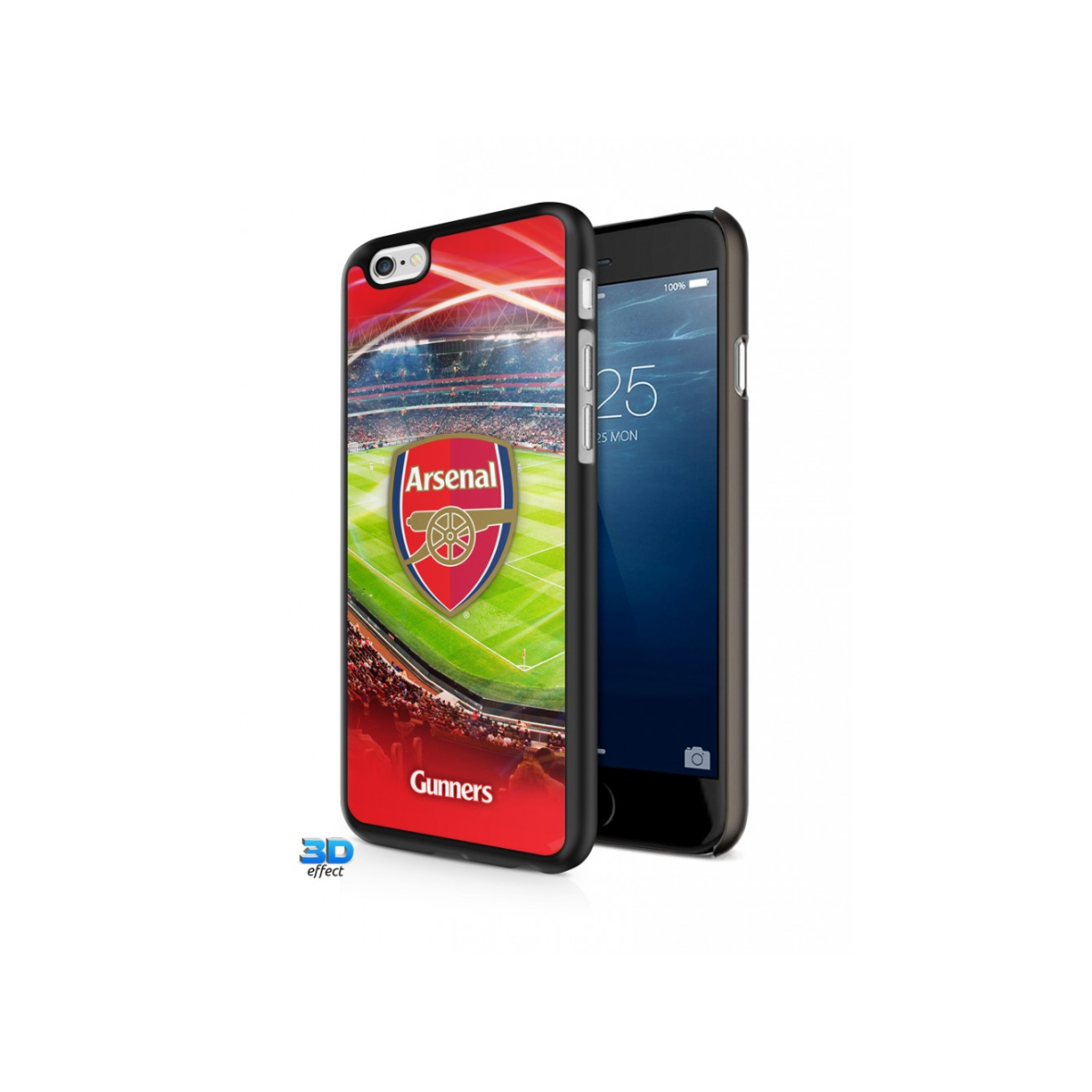 inToro Arsenal FC 3D iPhone 6 Hard Case