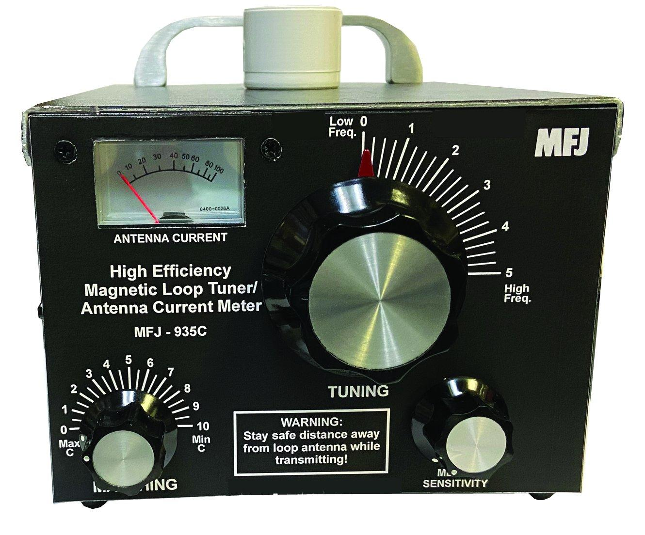 MFJ-935B Portable/Home Base Multiband Loop Antenna Tuner
