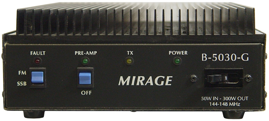 B-5030G Mirage 2m Amplifier 20-60W in, 300W out