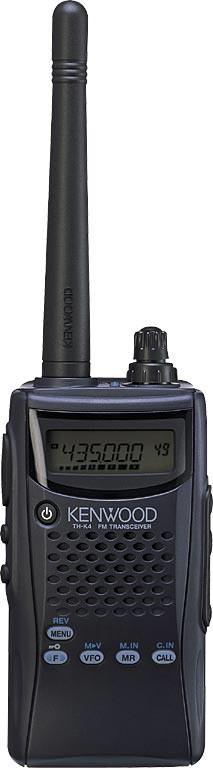 Kenwood TH-K4E UHF FM Handheld Transceiver
