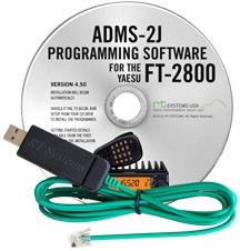 ADMS-2J Programming Software and USB-29F cable for the Yaesu FT-