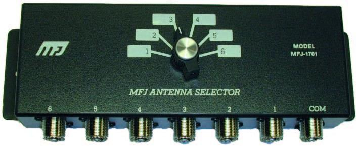 MFJ-1701 6-way Coax Switch (SO-239)