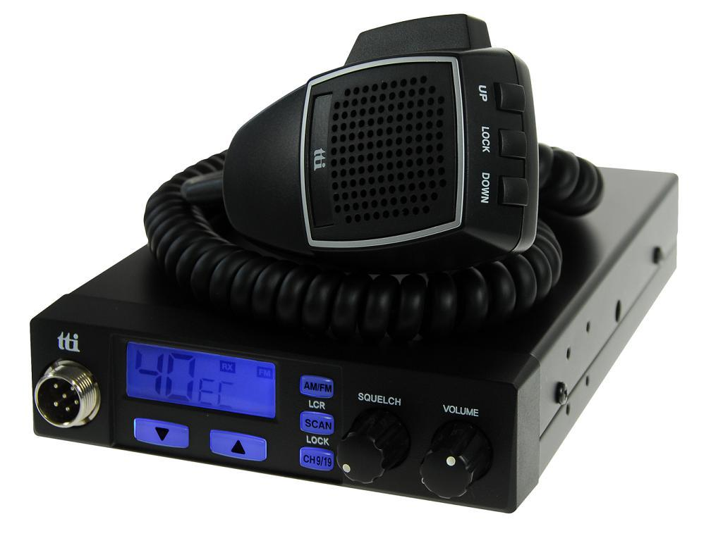 TTI TCB-660 Multi-Standard Mobile CB Radio - Use in 27 Countries
