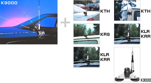Diamond K9000 Motor Driven Antenna Mount (Requires KRS or KRR or