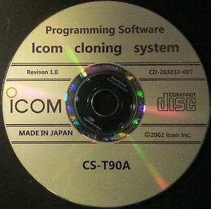 icom CS-T90A Programming Windows Software for IC-E90