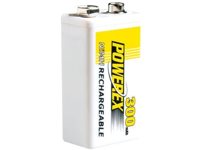 Maha MHR8.4V POWEREX 300mAh PP3 Battery