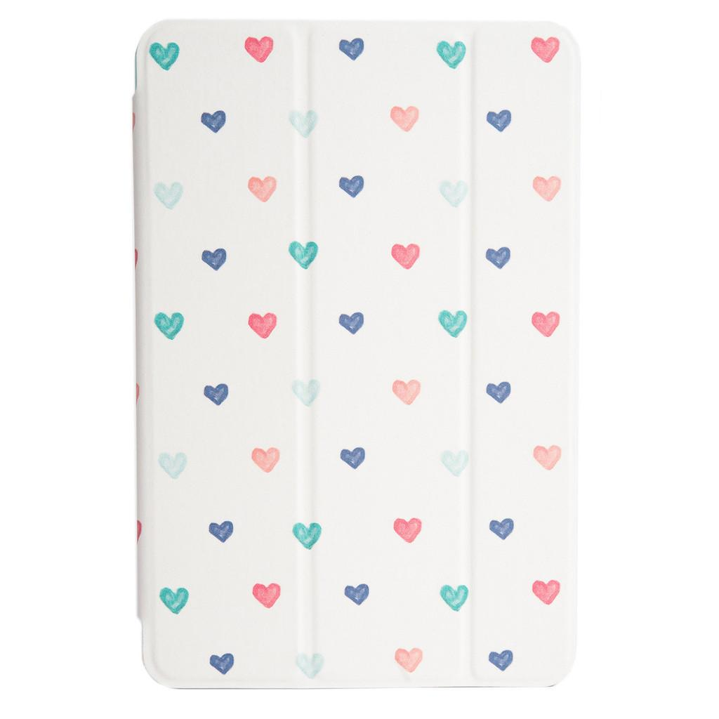 Agent18 Flipshield iPad Mini 1,2 and 3 - Handrawn Hearts