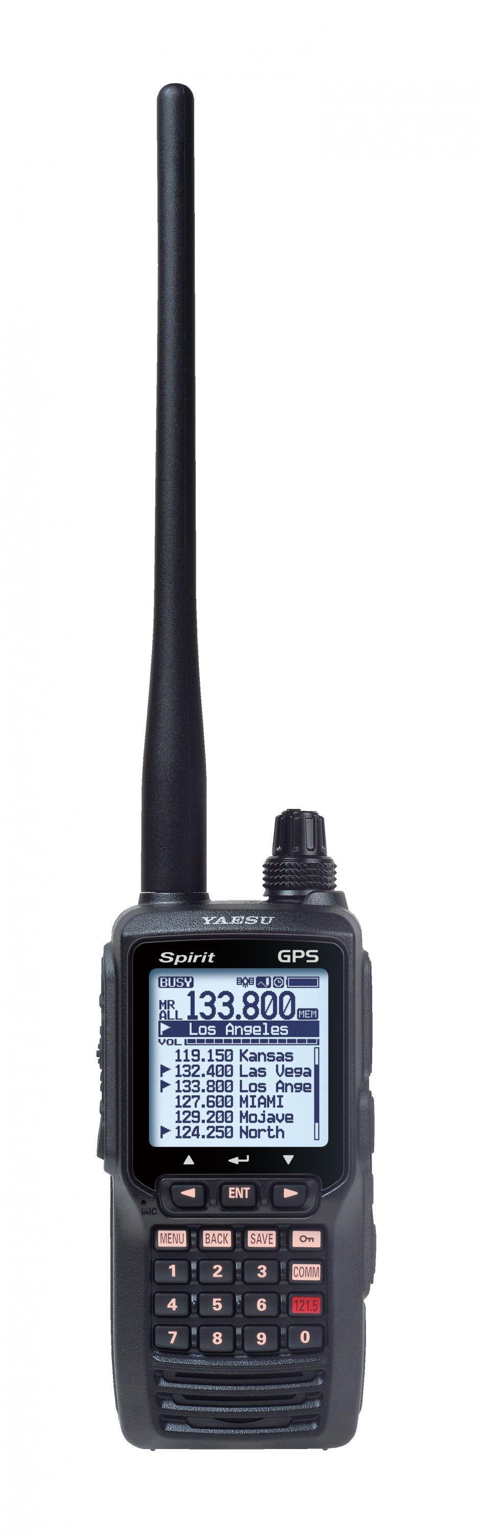 Yaesu FTA-750L Airband Transceiver with Integral GPS