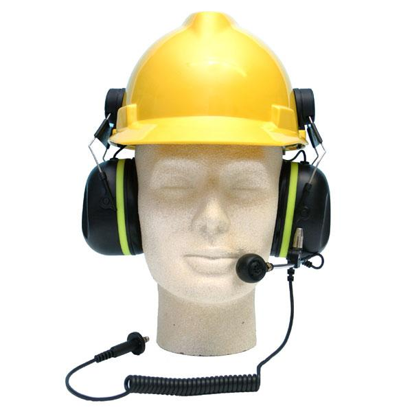A-KABEL Passive Ground Mechanics Headset (Helmet Attached) - Gro