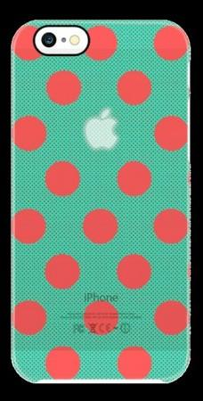 Uncommon Case iPhone 6 Deflector Halftone Dots Watermelon