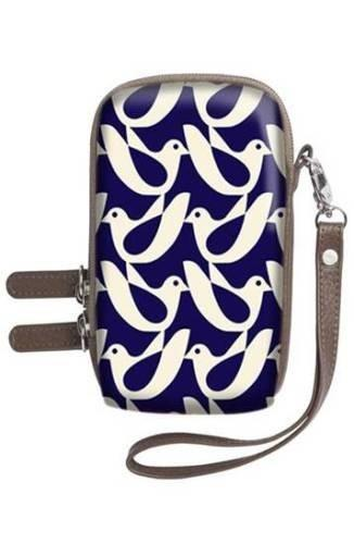 Orla Kiely Camera Case - Birdwatch Cream/Navy