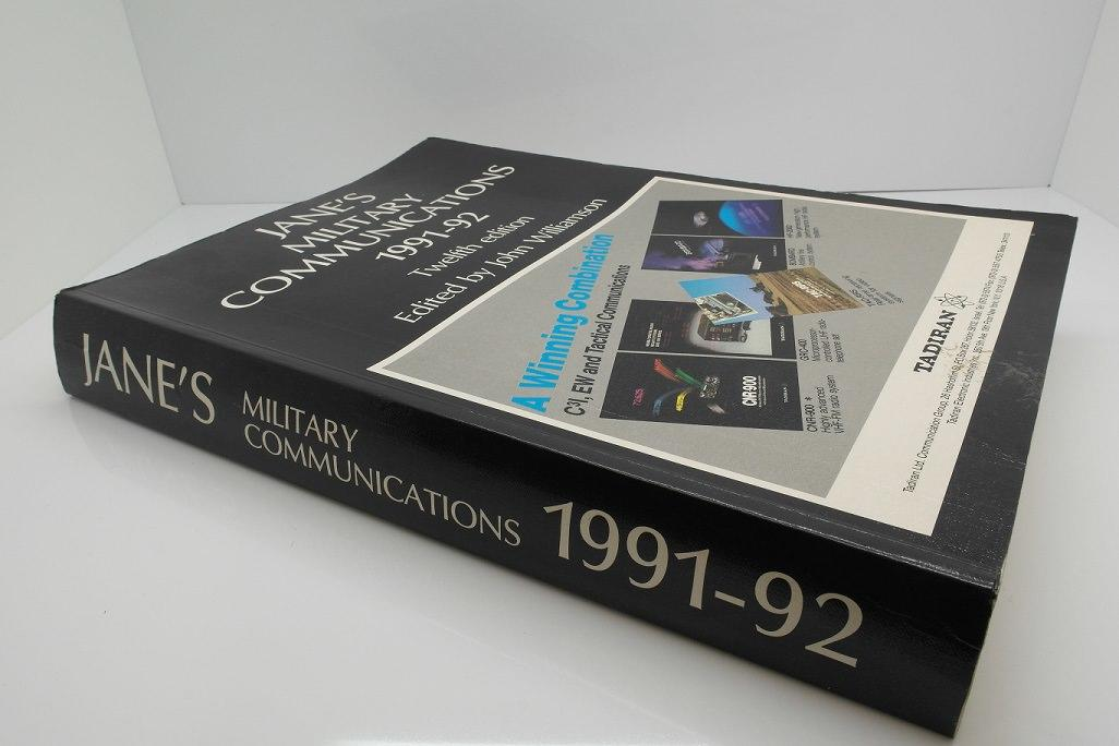 Second Hand Jane's Military Communications 1991-92 Edition