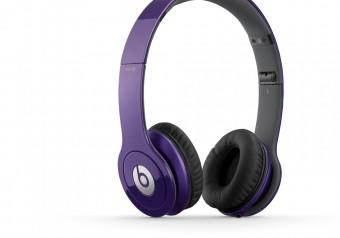 Beats Headphone iPhone iPod Solo HD Purple