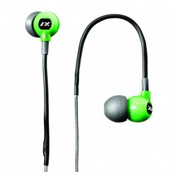TRAX CUSTOM FIT SPORT HEADPHONES GREEN