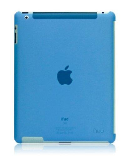 NUU BaseCase Back Cover for iPad 3 - Blue