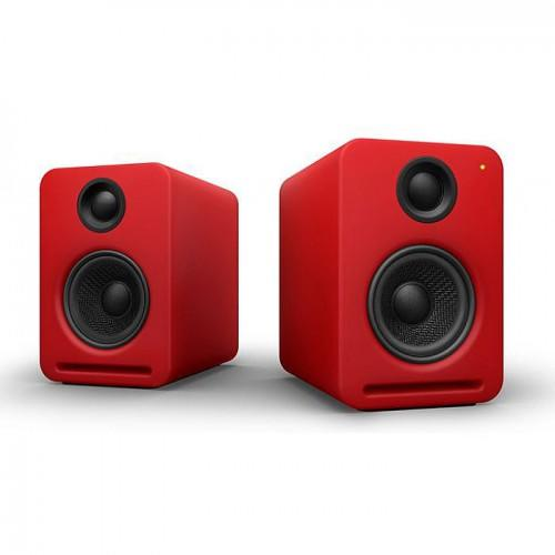 Nocs NS2 Air Monitors V2 Bookshelf Speaker - Red
