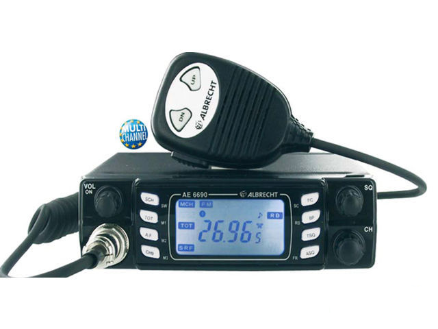 Albrecht AE-6690  Multi-region mobile CB radio