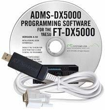 ADMS-DX5000 Programming Software and USB-63 for the Yaesu FT-DX5