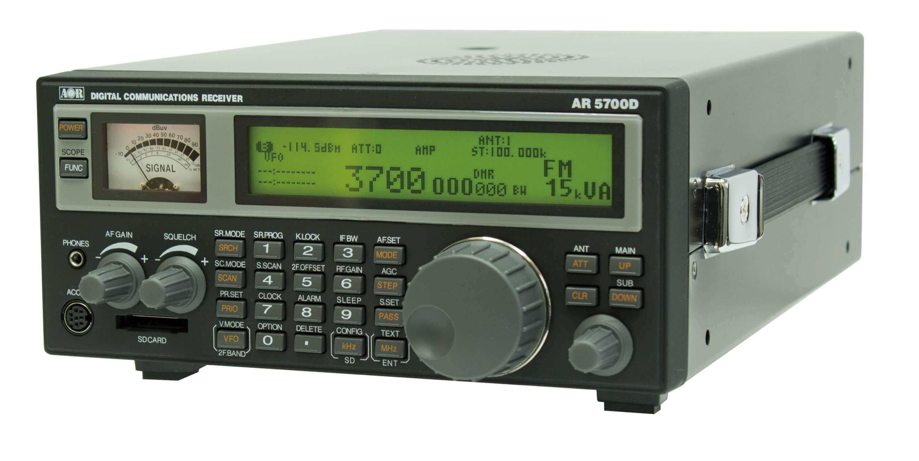 AOR AR5700D Digital Communications Receiver