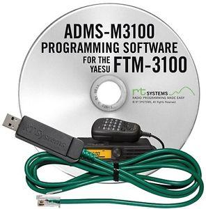 ADMS-M3100 Programming Software and USB-29F for the Yaesu FTM-31