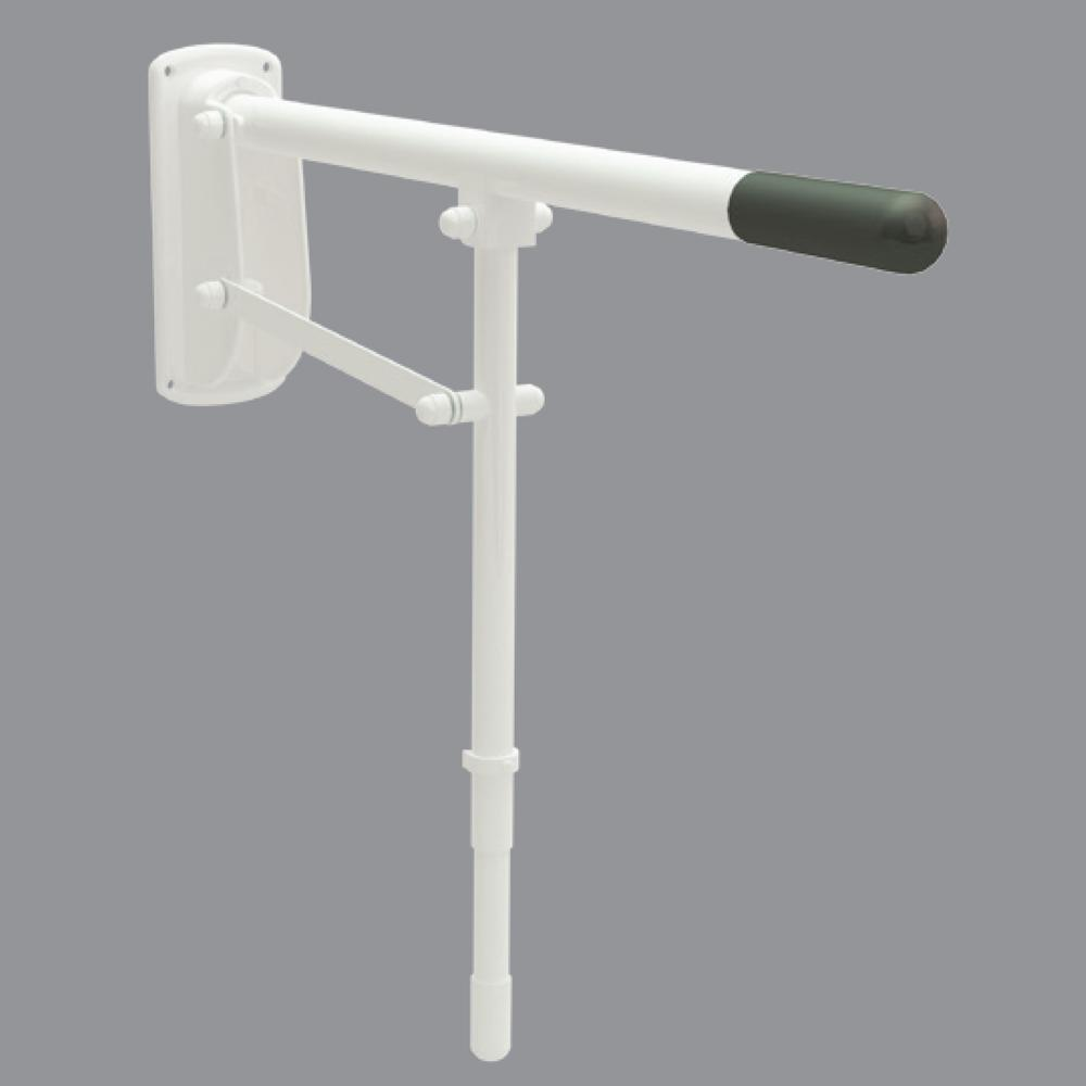 35mm Single Arm Hinged Support Rail (Stainless Steel)