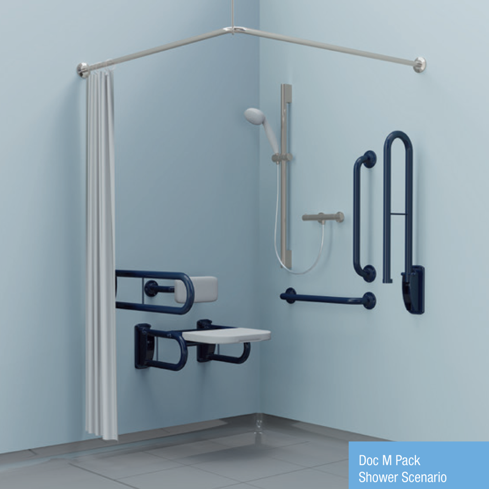 Doc M Pack - Shower Scenario (Stainless steel)