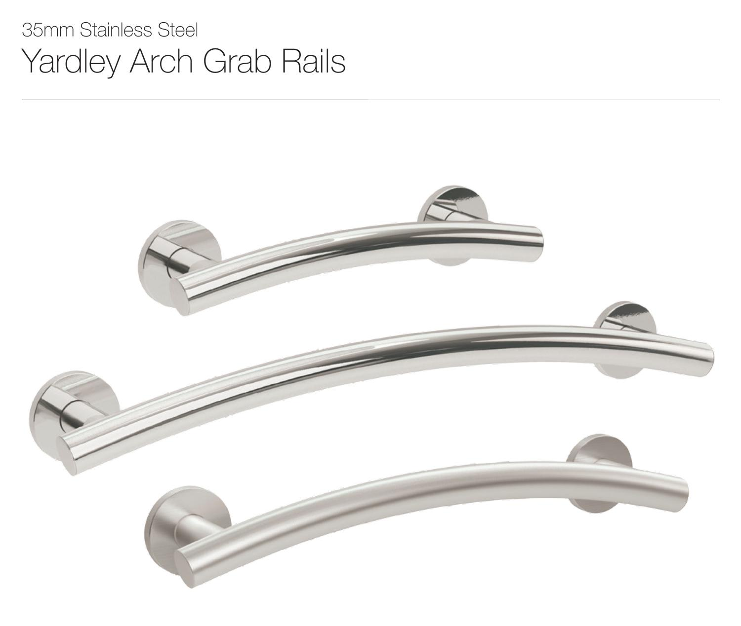 Yardley Arch Grab Rail (25mm Stainless Steel)