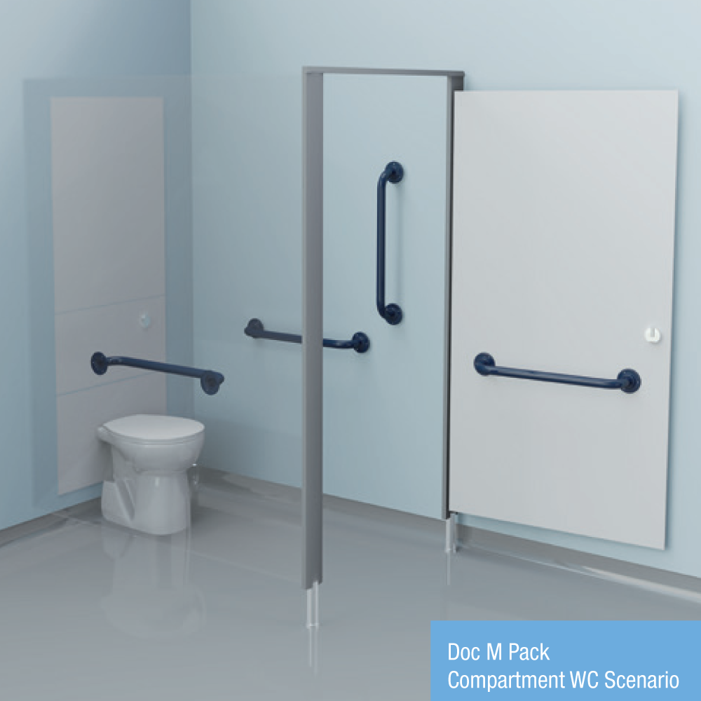 Doc M Pack - Compartment WC Scenario (Stainless Steel)