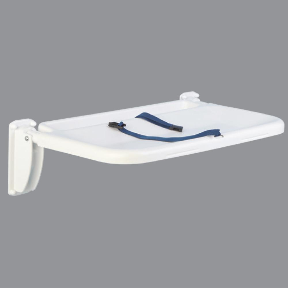 Baby Changer Tray with security straps