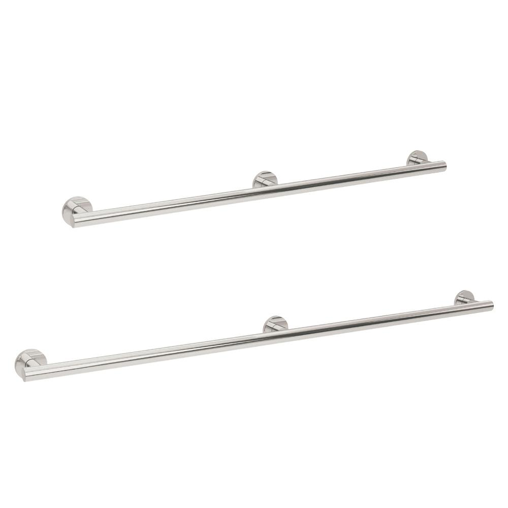 25mm Yardley Straight Bath Rail (Stainless Steel)
