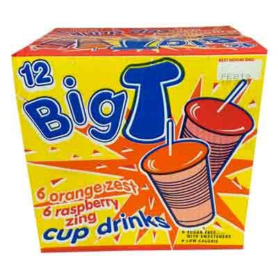 Big T Cup Drinks