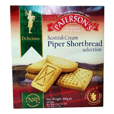 Patersons Piper Shortbread Selection