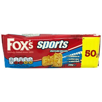 Fox's Sports Shortcake