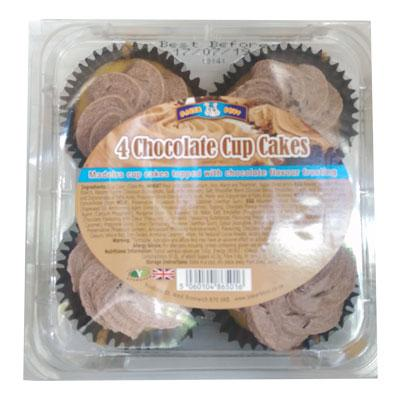 Baker Boys Chocolate Cup Cakes