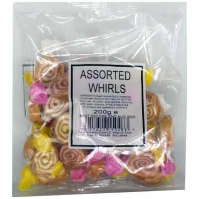 Assorted Whirls