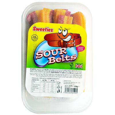 Sweeties Sour Belts Tub