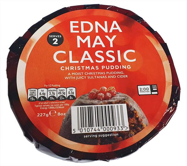 Edna May Xmas Pudding