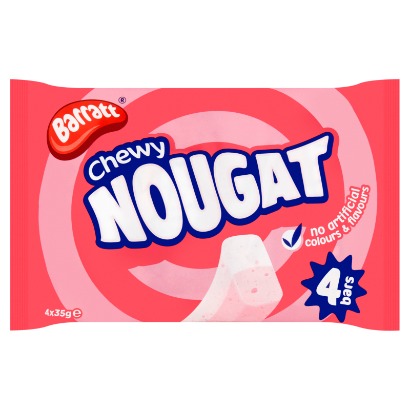 Barratt Pink & White Nougat 4pk