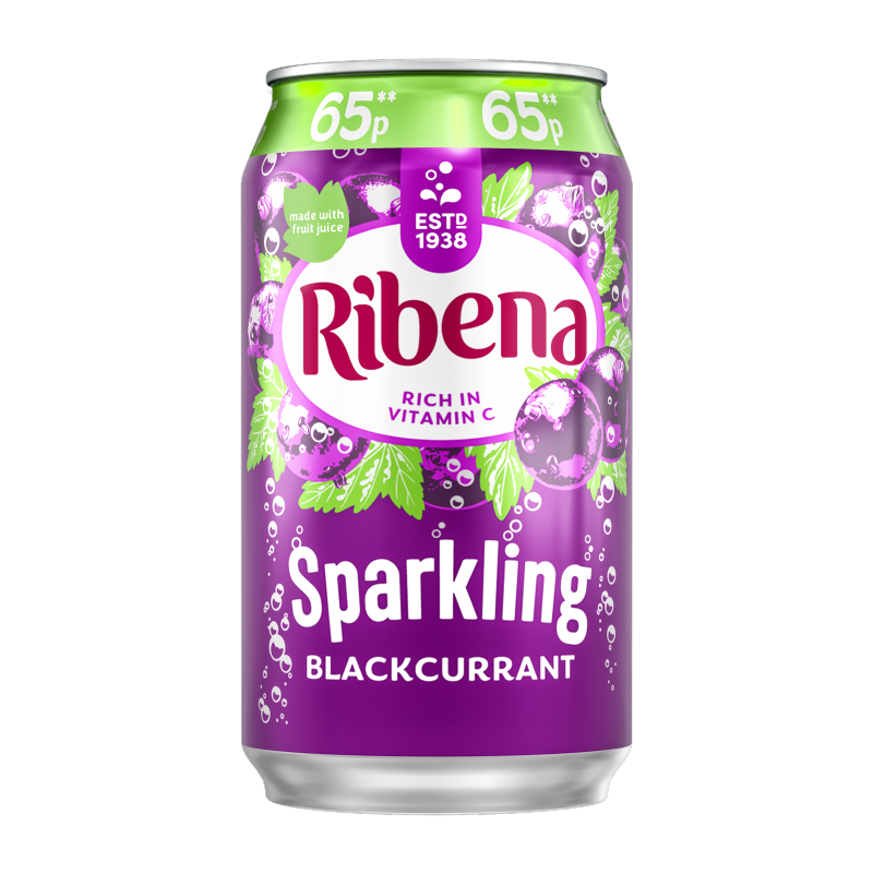 Ribena Blackcurrant Cans 330ml