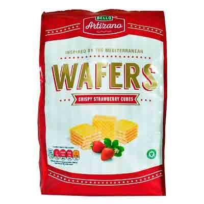 Bello Artizano Strawberry Wafer Cubes
