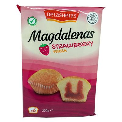 Delas Heras Strawberry Magdalenas
