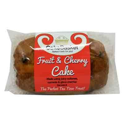 Cake Basket Loaf Fruit & Cherry